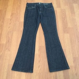 7 For All Mankind Jeans A Pocket Rhinestone